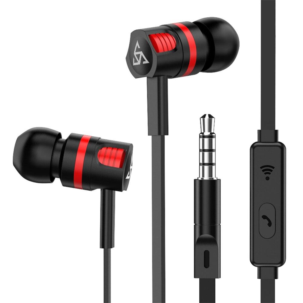 מקורי מותג אוזניות JM26 אוזניות בידוד רעש באוזן אוזניות עם מיקרופון עבור טלפון נייד אוניברסלי עבור MP4
