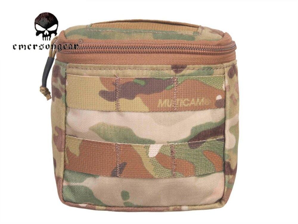 Emersongear Скрытая Перчаточная сумка/500D Мультикам Молл битва  поле медик EMT сумка EM9336medical mollemolle medicalpouch pouch -