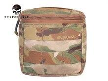 Emersongear bolsa para guantes ocultos, Multicam, MOLLE, campo de batalla, médico, EM9336