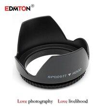 Digicam Lens Hoods 77mm 77 mm Flower Petal Digicam Lens Hood For all DSLR Digicam