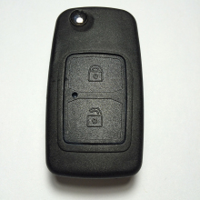New Arrival 2 Button Folding Remote Key For Chery Tiggo 433MHZ/315MHZ With Uncut Blade Good Quality Free Shipping
