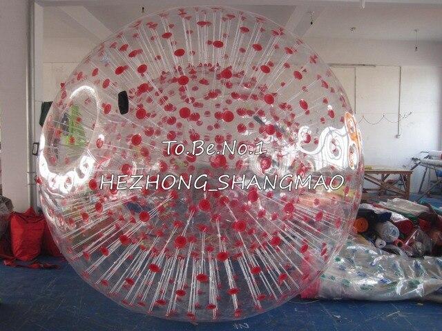 2.5 М * 1.8 М Надувные Зорб мяч Зорбинг Людской шарик Хомяка 1300 Вт Воздуходувки X1