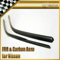 Carbon Fiber Window Wind Deflector Shelters For Nissan Skyline R34 GTR GTT Car Accessories Racing In Stock