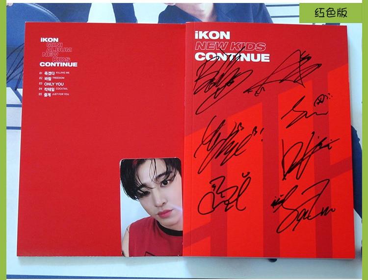 Entertainment Memorabilia Signed IKON Autographed MINI Album