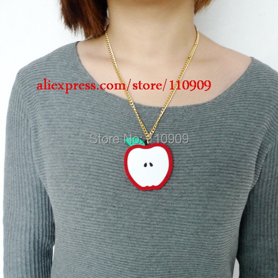 143n laser acrylic so cute red apple pendant necklace in pendant 143n laser acrylic so cute red apple pendant necklace mozeypictures Image collections