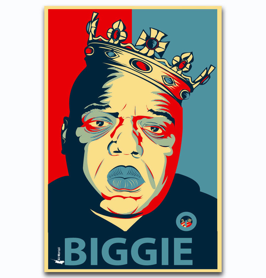 Notorious B.I.G Crown Poster 24 x 36