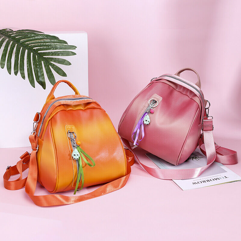 Candy color PU leather womens backpack new college style fashion school bag travel detachable shoulder strap shoulder bagCandy color PU leather womens backpack new college style fashion school bag travel detachable shoulder strap shoulder bag