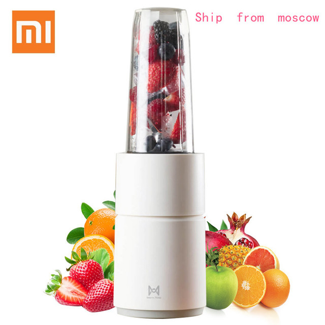 Xiaomi Original Round Small Electric Monster Juicer Fruit Vegetable Cooking Travel Home Juicer DIY Drinks Multi-function Juicer