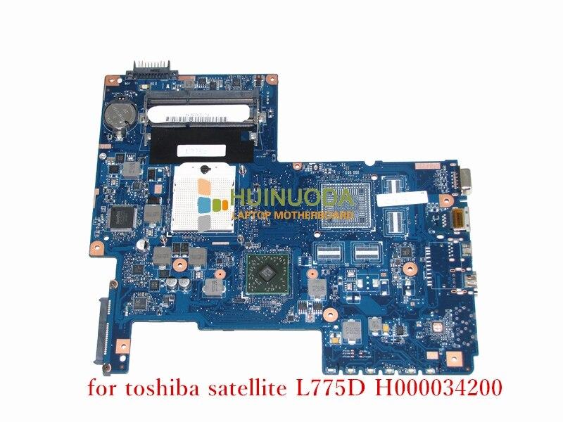 H000034200 laptop motherboard for Toshiba Satellite L750 L770D L775D BS AS MAIN BOARD REV 2.1 08N1-0N93J00 Works Mainboard
