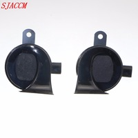 1 pair Special For Horn 12V Loudness 105 118dB Loud Car Horn For Long Life Time Claxon Auto Waterproof Snail Horn Car Styling