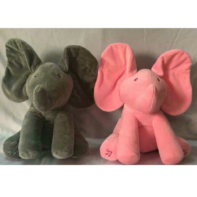Elephant Stuffed Animals & Plush Elephant Doll 33*28cm New Style Toys Plush Toy & Musical Baby Doll For Baby Gift Or Christma