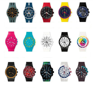 Image 3 - Rubber Silicone Wrist Watch Band Strap for Swatch 16mm 17mm 19mm 20mm Watchband Accessories