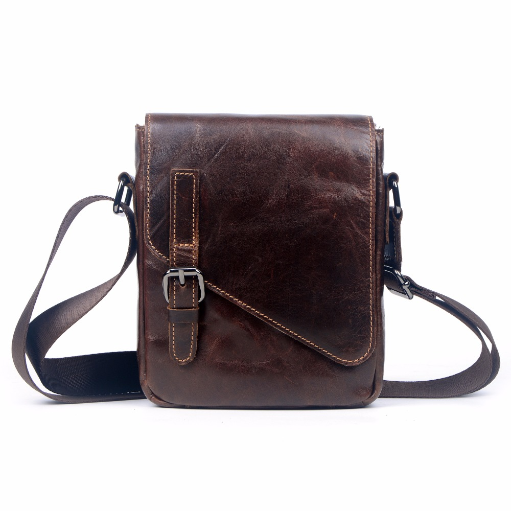 New 2016 genuine leather business bag for men famous brand shoulder messenger bags male high quality cowhide crossbody bag 2016 new fashion men s messenger bags 100% genuine leather shoulder bags famous brand first layer cowhide crossbody bags