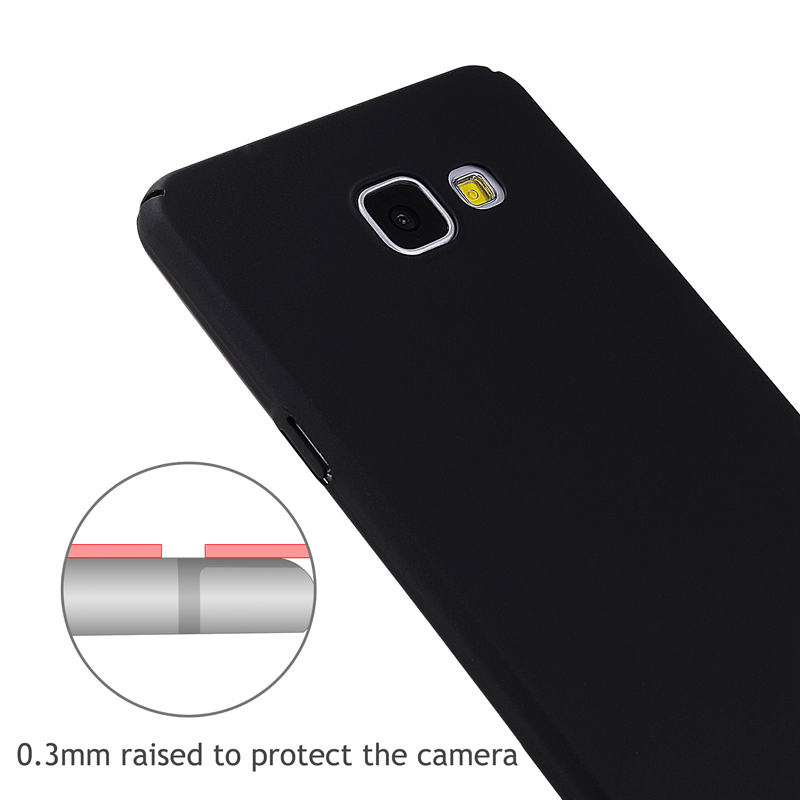 360 Degree Protection Case For Samsung Galaxy A3 A5 J3 J5 J1 2016 J7 A7 Hard Plastic Cover Phone Back Cover Ultra Thin Matte