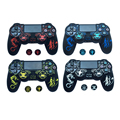 New personality dragon totem Silicone Cover Protection Case for SONY playstation 4 PS4 Dualshock 4 Controller Skin