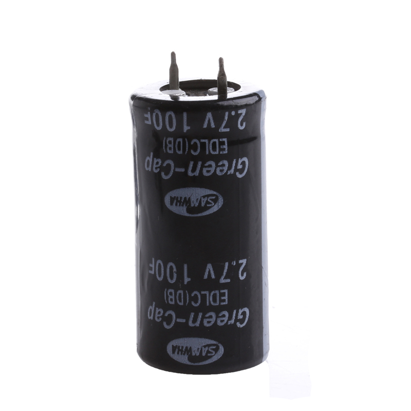 2Pcs <font><b>Super</b></font> <font><b>Capacitor</b></font> <font><b>2.7V</b></font> <font><b>100F</b></font> Ultra <font><b>Capacitor</b></font> Farad New image