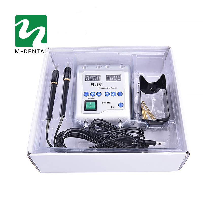 1 Set Dental Lab Electric Wax Carving Pen Electrical Appliances Carving and Molding Wax Instrument 3s flash heat dental gutta cutter with 4tips percha tooth cutter endo dissolved breaker cutter dental lab instrument blanchiment
