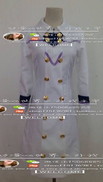 2016 Akagami no Shirayuki hime Trench coat White Snow Cosplay Costume