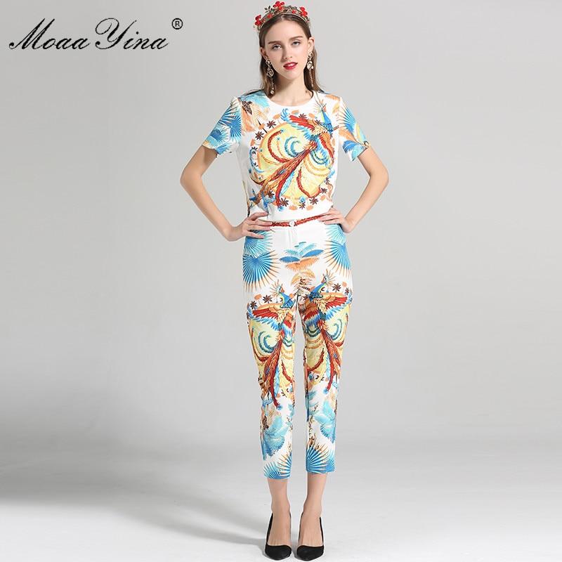 Estate Folk Stampa Della Tops Corta Impostare Set Manica Designer Di Fashion  Pantaloni Elegante Indie 3 ... 10ce6a81766