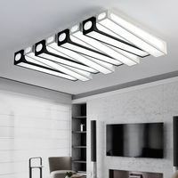 Современные акриловые светодио дный потолочные светильники для гостиной спальня столовая дома потолочный светильник освещение светильни
