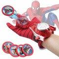 Hot Marvel Avengers Super Heroes Luva Laucher Adereços Adereços Brinquedo Ironman Spiderman Batman Hulk Cosplay Tamanho Luva para o Miúdo