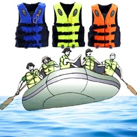 Adult Children Life Vest Jacket Professional Swimming Boating Drifting Life Vest with Whistle Water Sports Safety Man Jacket