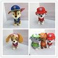 Caminhada música Casca Patrulha Cachorro Brinquedos Figuras de Ação Do Cão Eletrônico Inglês E Russo brinquedos Juguetes Patrulla Canina de Brinquedo Para Crianças