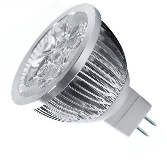 8 * 4W MR16 LED Bulb - 3200K Warm White LED Spotlight - 50Watt Equivalent Bi Pin GU5.3 Base for Landscape,Track Lighting