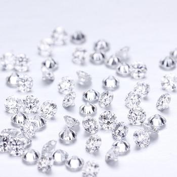 10pcs 2.1mm Diamond CVD / HPHT DEF VS Quality Round Shape Lab Grown Loose Diamond