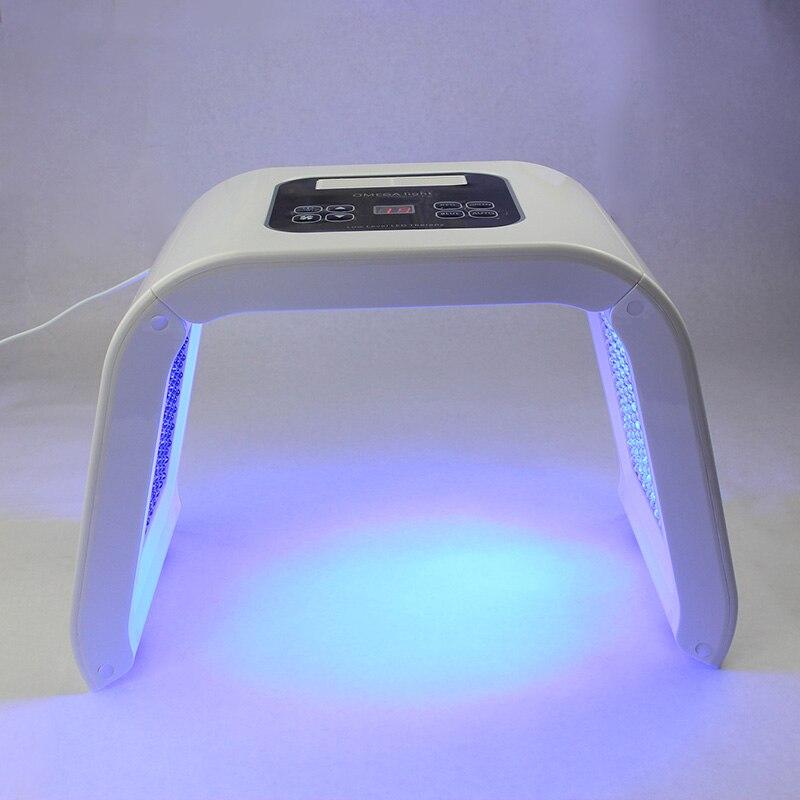 4 couleurs LED PDT lumière soins de la peau Machine de beauté masque Facial thérapie visage rajeunissement de la peau acné solvant dispositif Anti-rides