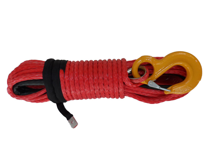 8mm*30m synthetic winch rope for SUV cars spctra rope,winch line for offroad,tow rope for car 8mm 30m offroad winch rope plasma rope for accessaries winch cable for offroad winch line