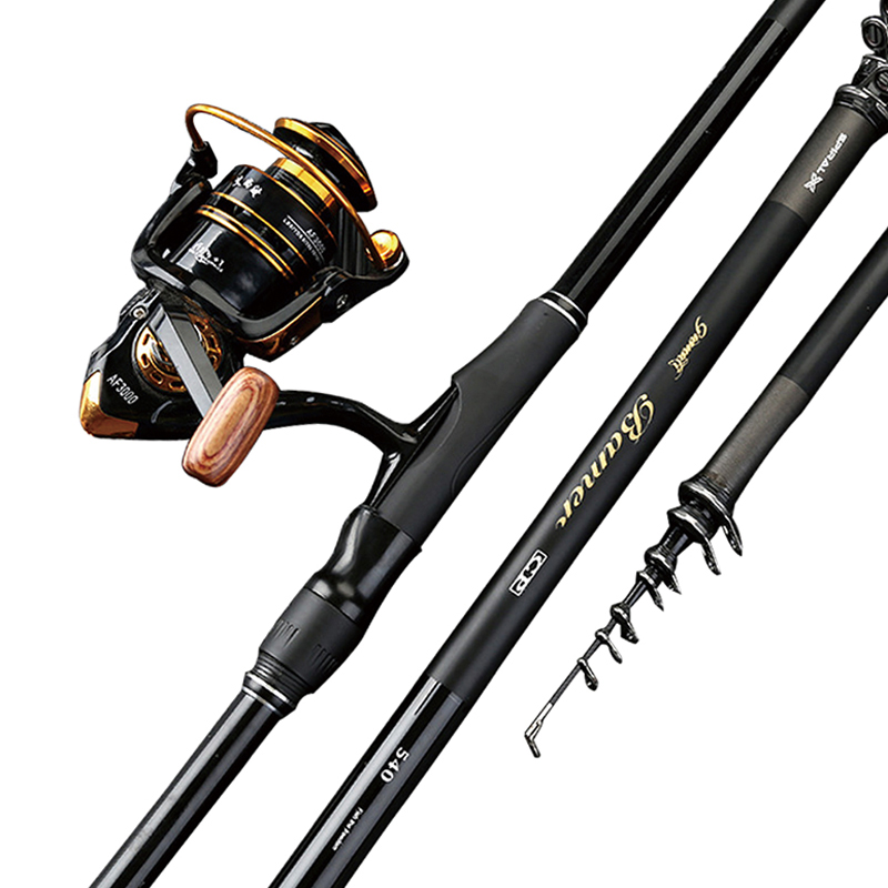High carbon portable Best selling telescopic 3.6M 7.2M fishing rod superhard long sea dual use bait casting jellyfish sale|Fishing Rods| |  - title=