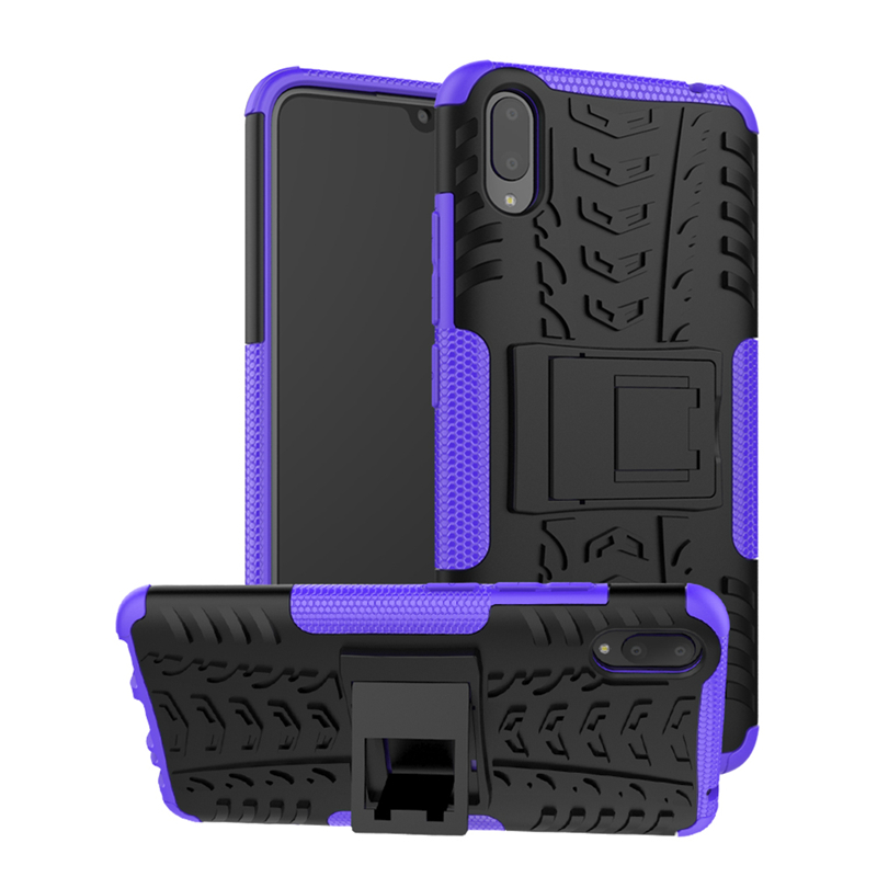 sFor Vivo V11 Case Heavy Duty Hard Rubber Silicone Phone