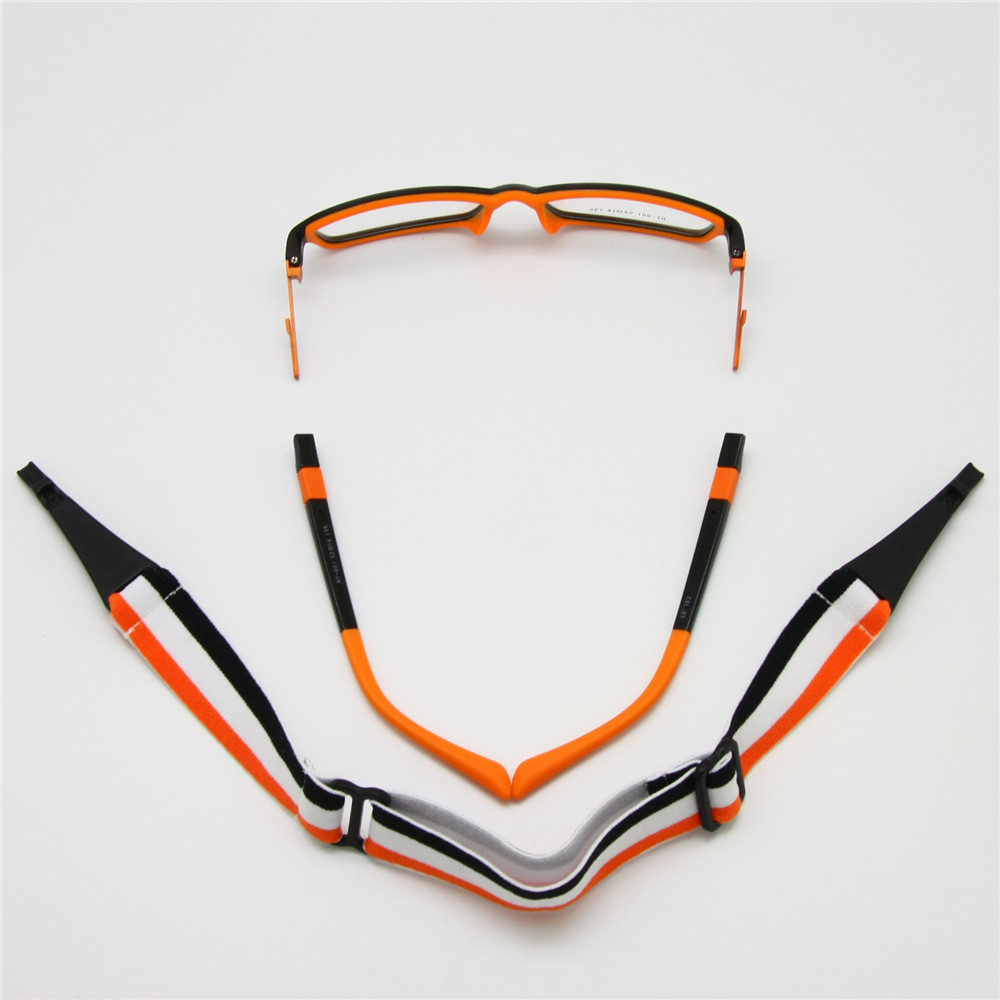 Kids Glasses Frame with Replaceable Sporting Head Band 2 in 1, Non ...
