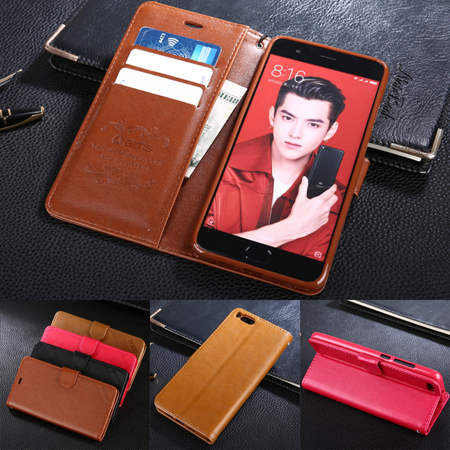 AZNS Case For Xiaomi Mi Note 3 5.5 Luxury Wallet PU Leather Case Stand Flip Card Hold Phone Cover Bags For Xiaomi Mi Note 3