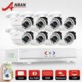 ANRAN 8CH Security Camera System AHD 1080N HDMI DVR 720P 1800TVL IR Outdoor CCTV Camera Video Home Surveillance Kits Email Alert