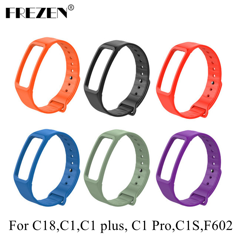 Original Bracelet Strap Replacement for C1 C1S C18 C1 Pro F602 Wristband Wrist Straps Belt Fitness Tracker Bracelet Accessories livolo us standard base of wall light touch screen remote switch ac 110 250v 3gang 2way without glass panel vl c503sr page 7