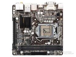 Używana płyta główna Asrock B85M ITX mini itx 16G DDR3 hdmi vga DVI w Płyty główne od Komputer i biuro na