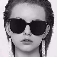 2020 Kim Kardashian Sunglasses Lady Flat Top Eyewear Lunette Femme Women Luxury