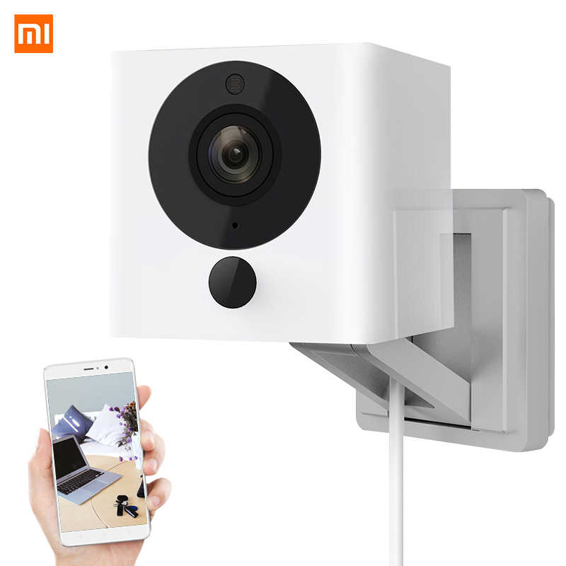 Asli Xiaomi CCTV Mijia Xiaofang 110 Derajat F2.0 8X1080 P Digital Zoom Kamera Ip Wifi Nirkabel Camaras cam