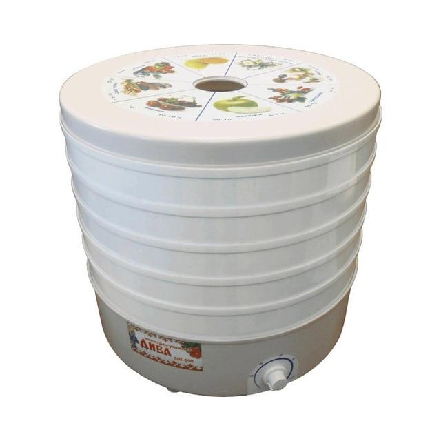 Электрическая сушилка Дачница СШ-008 (Мощность 520 Вт, объем 25 л, терморегулятор, макс.температура 70°С)