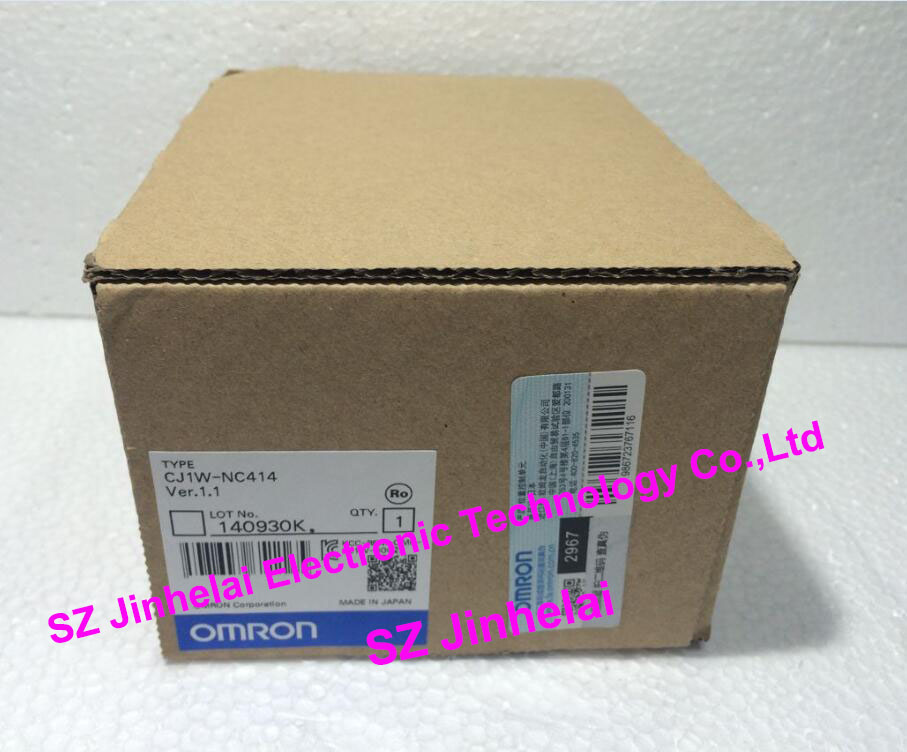 CJ1W-NC414 New and original OMRON PLC Position control unit cj1w tc101 temperature control unit