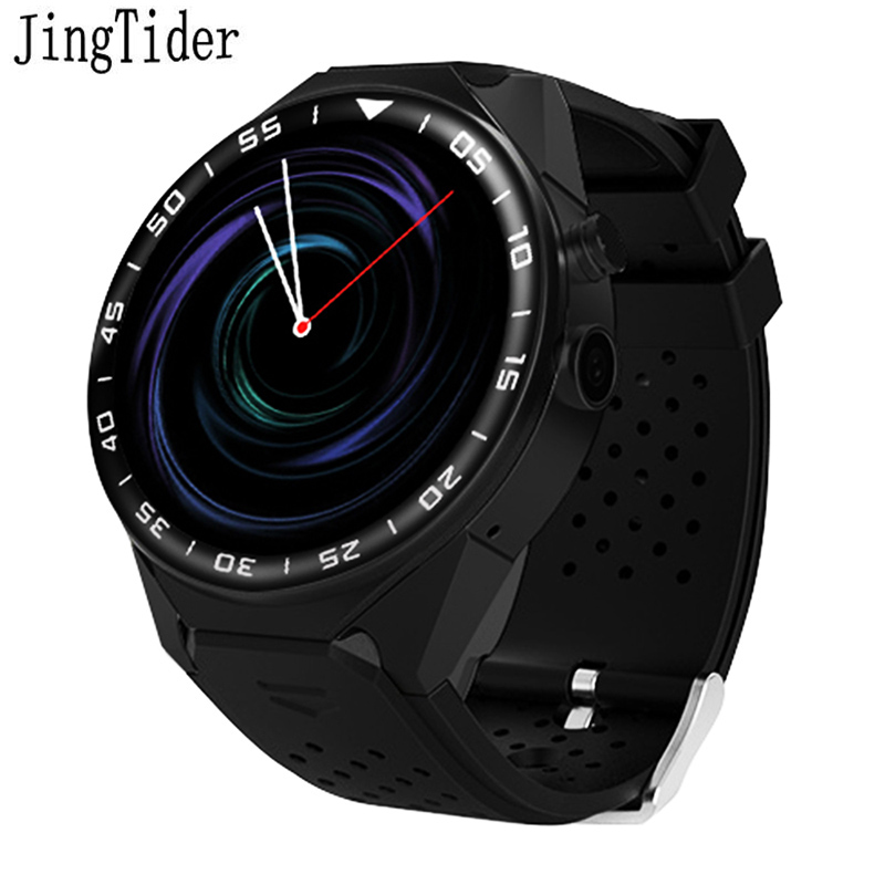 JingTider S99C Smart Watch Android 5.1 OS 1GB Ram 16GB Rom 5.0 MP MTK6580 Quad Core 3G GPS Wristwatch 1.39 Heart Rate Pedometer songku s99b 3g quad core 8gb rom android 5 1 smart watch with 5 0 mp camera gps wifi bluetooth v4 0 pedometer heart rate