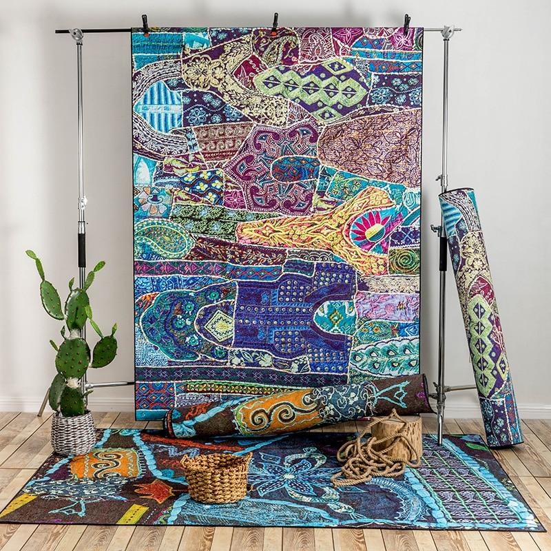Bunte Marokko Stil Moderne Weiche Große Teppiche Für Wohnzimmer  Schlafzimmer Teppiche Hause Teppich Boden Tür Heiklen Bereich Teppich Mode