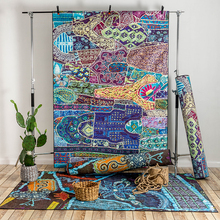 Colorful Morocco Style Modern Soft Large Carpets For Living Room Bedroom Rugs Home Carpet Floor Door Delicate Area Rug Fashion yoosa fashion abstract delicate area rug soft large carpets for living room bedroom kids room rugs home carpet floor door mat