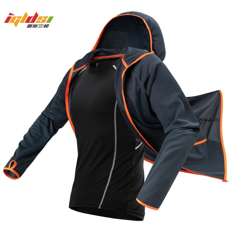 Summer Lightweight Waterproof Hoodie Jacket Men Quick Dry Skin Coat Casual Thin Breathable Ice Silk Outwear Windbreaker M-4XL