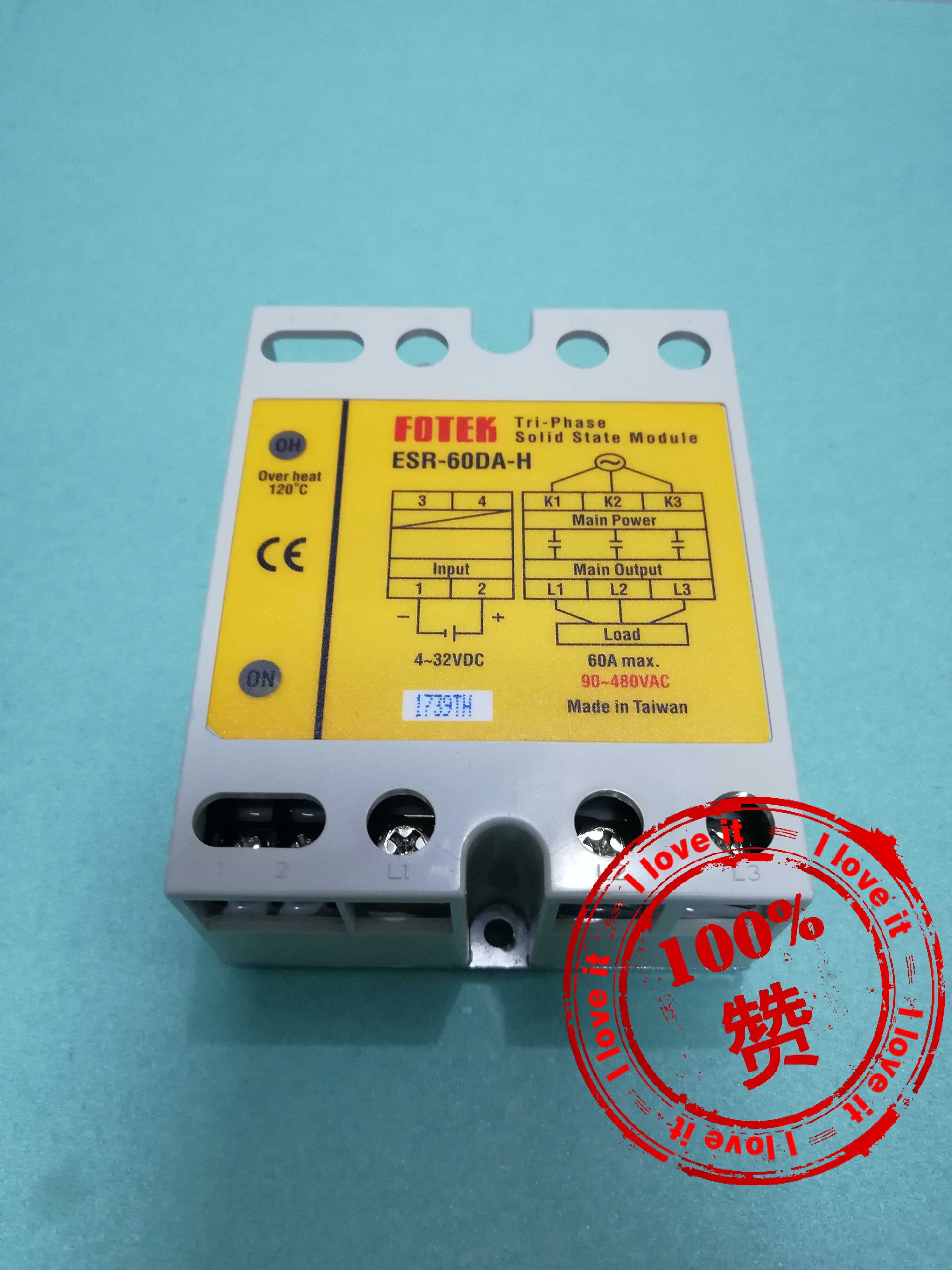 100 % New Original Imported High Power Three-phase Solid State Relay ESR-60DA-H