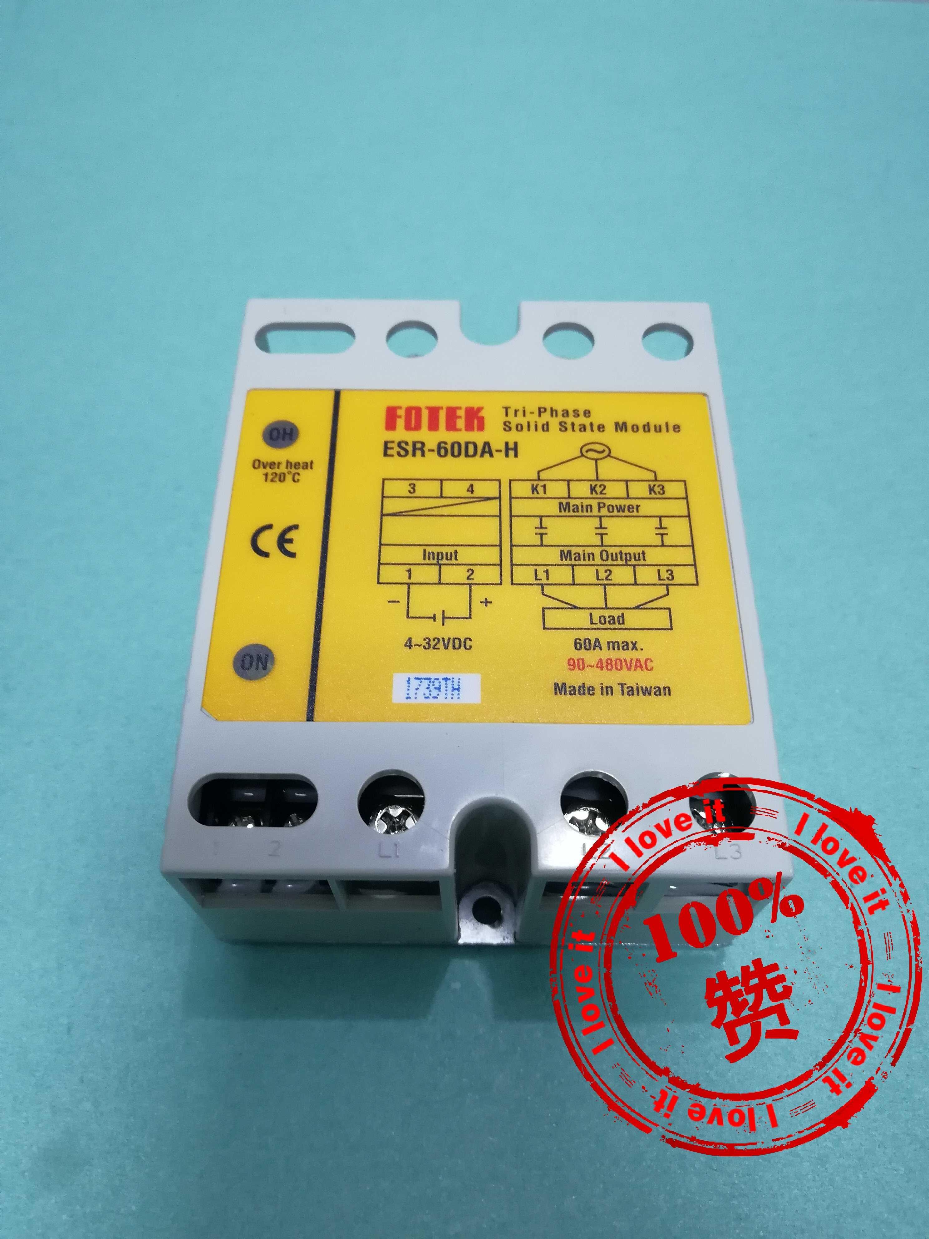 100 % New Original Imported High Power Three-phase Solid State Relay ESR-60DA-H