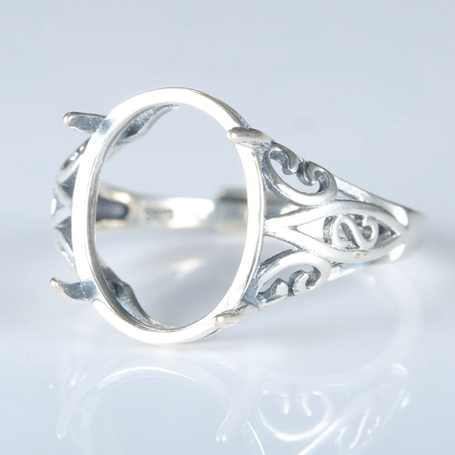 Aliexpress Buy 925 Sterling Silve Engagement Ring Filigree