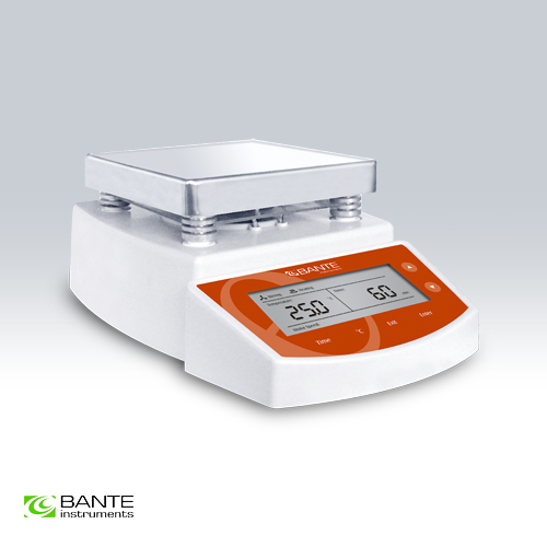 Genuine Brand BANTE hot plate magnetic stirrer High performance CE certificate selectable stirring time max heating